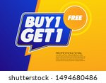special offer banner  hot sale  ... | Shutterstock .eps vector #1494680486