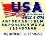 vector set of hipster alphabet...   Shutterstock .eps vector #1494736076