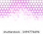light purple  pink vector...   Shutterstock .eps vector #1494776696