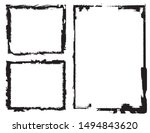 abstract grunge border frames... | Shutterstock .eps vector #1494843620