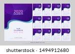 islamic calendar 2020 hijri... | Shutterstock .eps vector #1494912680