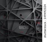 Abstract 3D Paper Graphics | Shutterstock vector #149492324