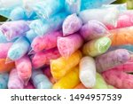 Colourful Cotton Candy In...