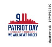 911 Patriot Day Background...