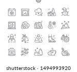 winter well crafted pixel...   Shutterstock .eps vector #1494993920