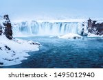 The Godafoss Or Water Of Gods...