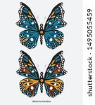 Typography Slogan Butterfly...
