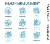 body measurement devices... | Shutterstock .eps vector #1495155923
