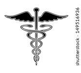 caduceus medical symbol    Shutterstock . vector #149516936