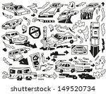 cars doodles | Shutterstock .eps vector #149520734