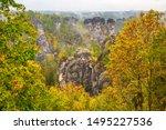 Amazing Autumn Scenery Of Ore...