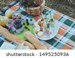 A Beautiful Picnic With Rose...