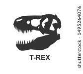 Dinosaur Bone Silhouette...