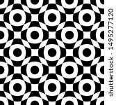 the geometric seamless pattern. ... | Shutterstock .eps vector #1495277120