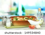 casserole with vegetables and... | Shutterstock . vector #149534840