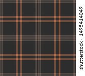 plaid pattern seamless vector... | Shutterstock .eps vector #1495414049