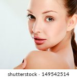 portrait of beautiful woman ... | Shutterstock . vector #149542514