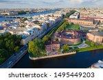 Panorama Of Saint Petersburg....