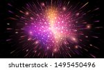 abstract multicolored holiday... | Shutterstock .eps vector #1495450496