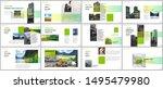 minimal presentations design ...   Shutterstock .eps vector #1495479980