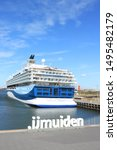 ijmuiden  the netherlands  ... | Shutterstock . vector #1495482179