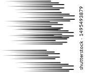 speed lines in arrow form ....   Shutterstock .eps vector #1495493879