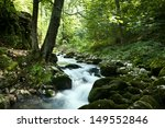 waterfall in the forest | Shutterstock . vector #149552846