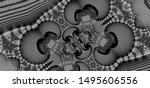 Fractal Artwork  Black And...