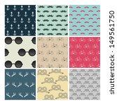 hipster set | Shutterstock .eps vector #149561750