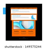 web design modern concept