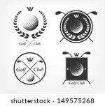 golf labels   Shutterstock .eps vector #149575268