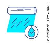 transparent waterproof film...