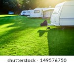 Travel Trailer Camping In A...