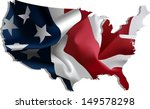 usa. flag map. all elements and ... | Shutterstock .eps vector #149578298