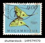 mozambique   circa 1953  a... | Shutterstock . vector #149579570
