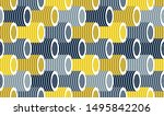 3d tubes optical seamless... | Shutterstock .eps vector #1495842206
