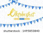 oktoberfest banner. background... | Shutterstock .eps vector #1495853840