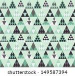 seamless triangle pattern 1   Shutterstock .eps vector #149587394