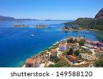 kastellorizo island  dodecanese ... | Shutterstock . vector #149588120