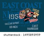 east coast yachting company... | Shutterstock .eps vector #1495893959