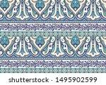 seamless beautiful indian...   Shutterstock . vector #1495902599