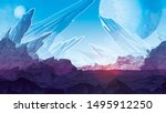 background of fantastic... | Shutterstock .eps vector #1495912250
