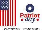 patriot day in united states.... | Shutterstock .eps vector #1495968350
