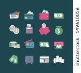 finance icons | Shutterstock .eps vector #149610026