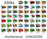 african flags | Shutterstock . vector #149610350