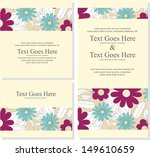 wedding invitation | Shutterstock .eps vector #149610659