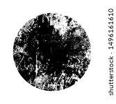 grunge stamp mockup of... | Shutterstock .eps vector #1496161610