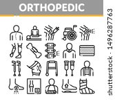 orthopedic collection elements... | Shutterstock .eps vector #1496287763