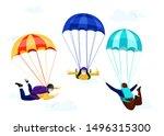 flat vector set of professional ...   Shutterstock .eps vector #1496315300