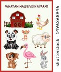 children educational game. what ...   Shutterstock .eps vector #1496368946